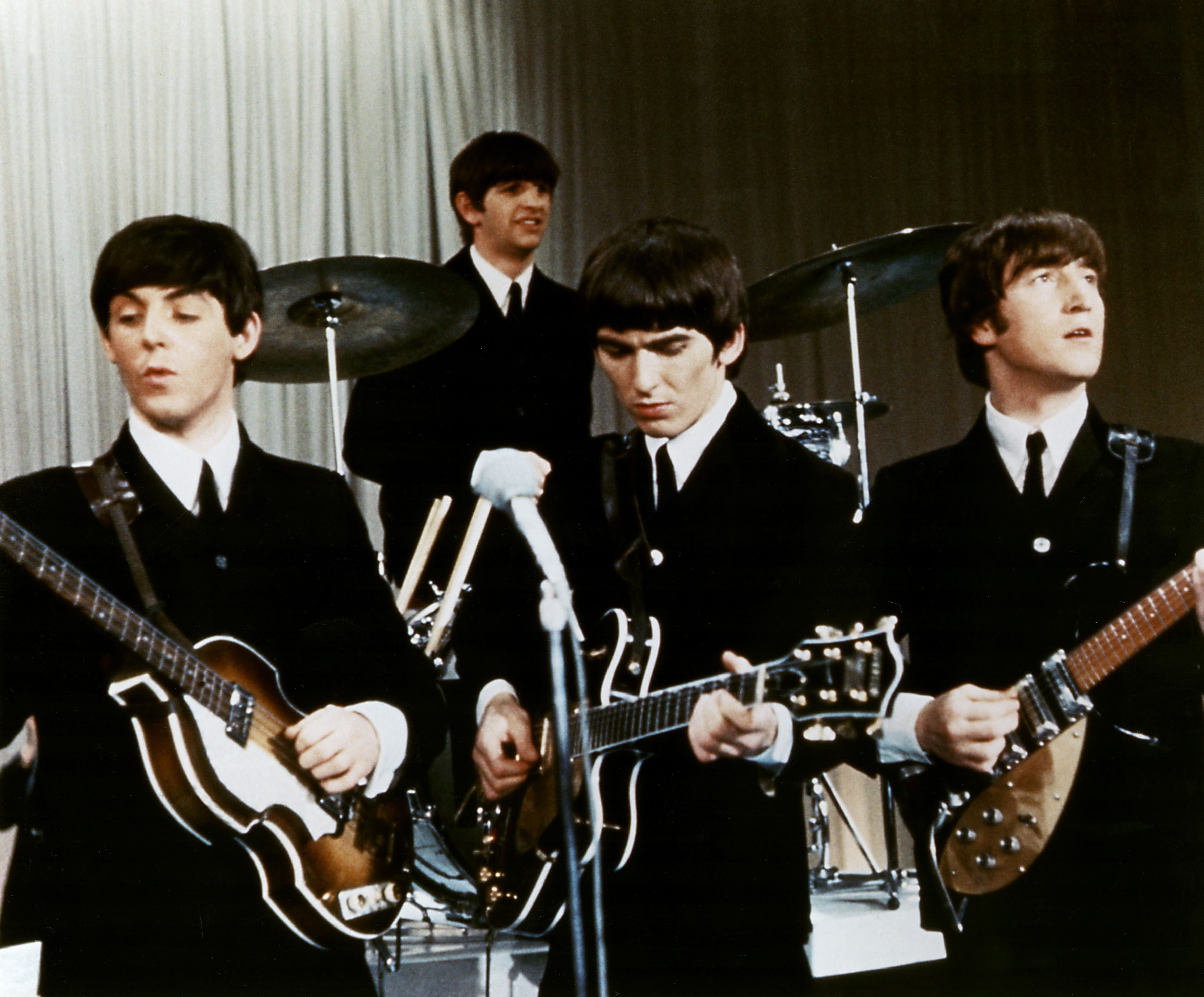 Beatles The 27121960 1141970 British Band With Paul McCartney Ringo Starr George Harrison John Lennon Live Perform